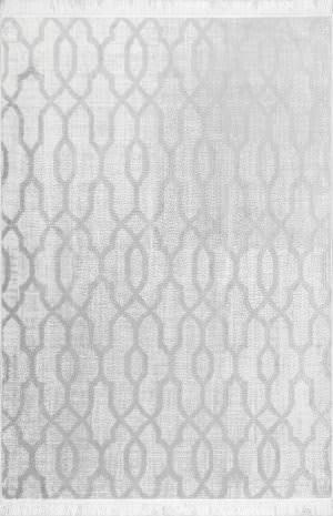Famous Maker Vintage Josie Silver Area Rug