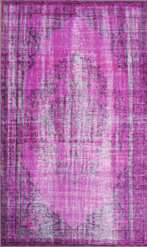 Nuloom Machine Made Vintage Violet Area Rug