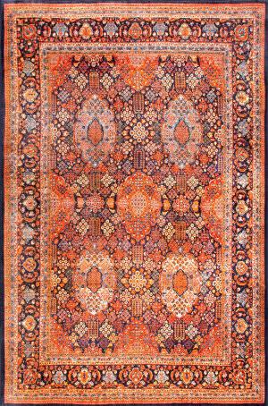 Nuloom Persian Tiara Orange Area Rug