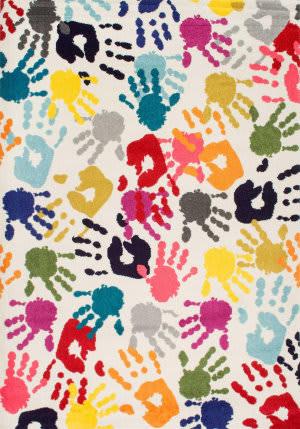 Nuloom Pinkie Handprint Multi Area Rug