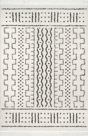 Famous Maker Sophie Demarche Off White Area Rug
