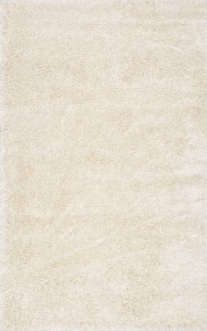 Nuloom Millicent Shaggy Ivory Area Rug