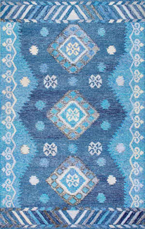 Nuloom Hartmann 165322 Blue Area Rug