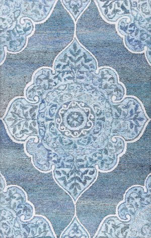 Nuloom Hand Tufted Fallon Blue Area Rug