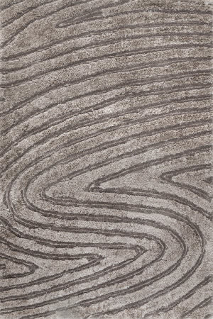 Nuloom Isabel Handmade Grey Brown Area Rug