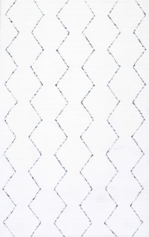 Nuloom Hand Tufted Sheilah White Area Rug