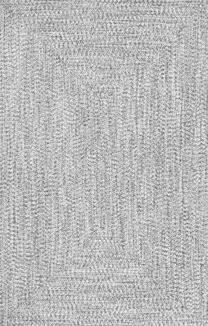 Nuloom Braided Lefebvre Salt And Pepper Area Rug
