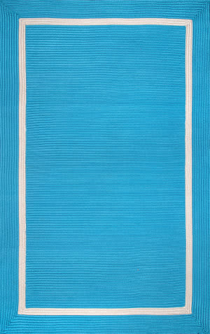 Famous Maker Braided Gwenyth Blue Area Rug