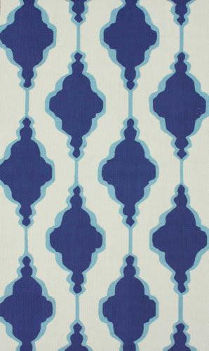 Nuloom Hand Hooked Eva Blue Area Rug