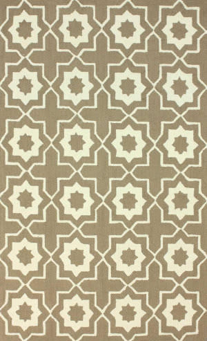 Nuloom Hand Hooked Amy Brown Area Rug