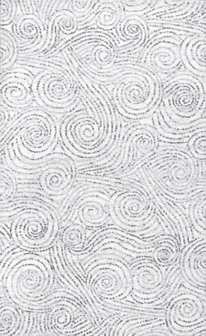 Nuloom Laticia Swirls Ivory Area Rug