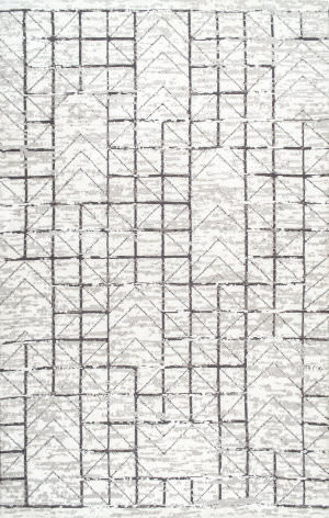 Nuloom Vintage Lerma Grey Area Rug