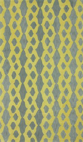 Nuloom Hand Hooked Stuart Yellow Area Rug