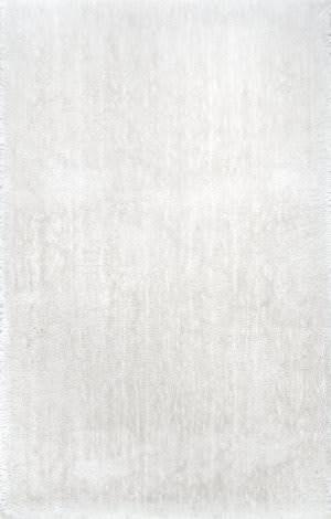 Nuloom Cherie Plush Shag Ivory Area Rug