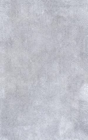 Nuloom Cherie Plush Shag Silver Area Rug