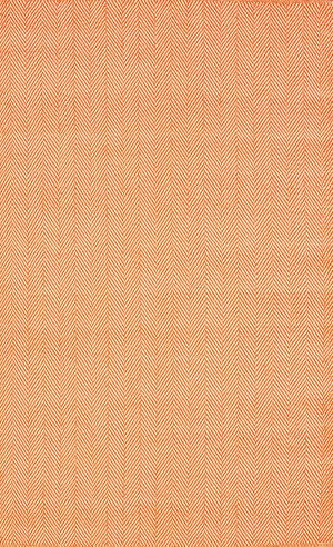 Nuloom Hand Loomed Kimberely Orange Area Rug