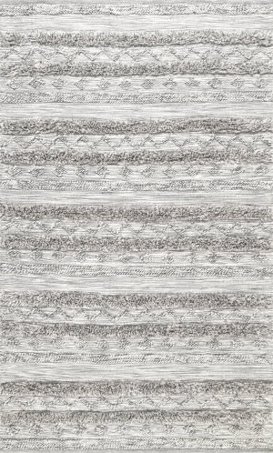Famous Maker High Low Josiah Grey Area Rug