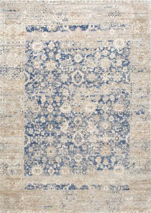 Nuloom Vintage Modesto Blue Area Rug
