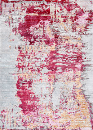 Nuloom Abstract Mitzie Red Area Rug