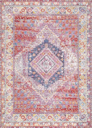 Nuloom Alda Tribal Red Area Rug