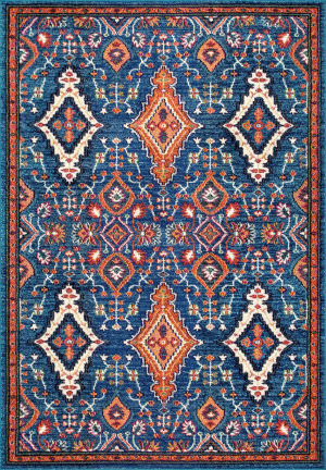 Nuloom Diamond Elayne Multi Area Rug