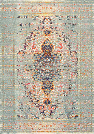 Famous Maker Distressed Sarita Grey Area Rug