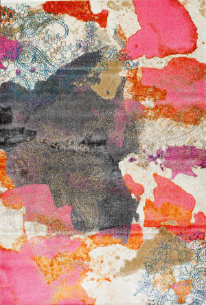 Nuloom Gresham 164515 Pink Area Rug