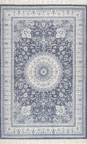 Nuloom Handmade Tillie Tassel Blue Area Rug
