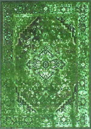 Nuloom Vintage Reiko Green Area Rug