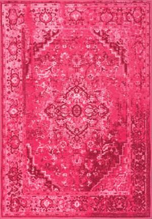Nuloom Vintage Reiko Pink Area Rug