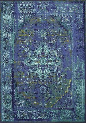 Nuloom Vintage Reiko Blue Area Rug