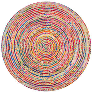 Famous Maker Aleen Braided Multi Area Rug