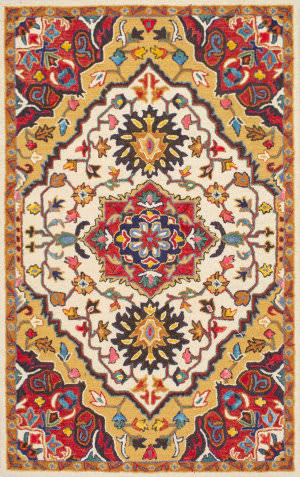 Nuloom Hand Tufted Arline Red Area Rug