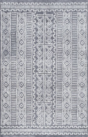 Nuloom Hand Tufted Evita Grey Area Rug