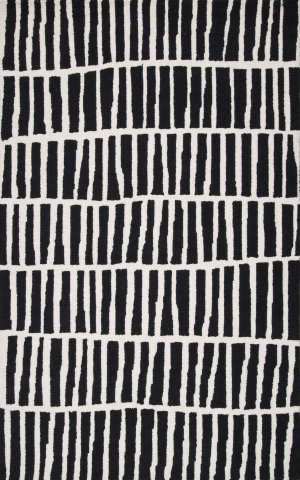 Nuloom Hand Tufted Lemuel Black Area Rug