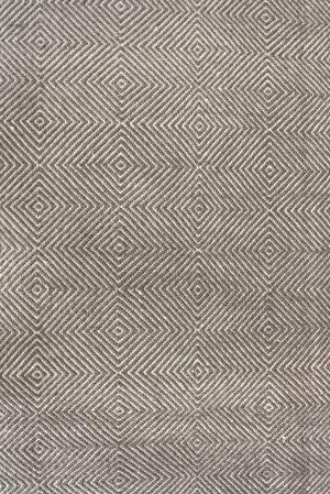 Nuloom Hand Woven Ago Grey Area Rug