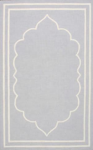 Nuloom Hand Hooked Tari Grey Area Rug