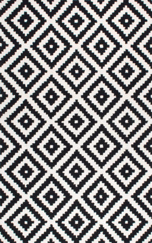 Nuloom Hand Tufted Kellee Black Area Rug