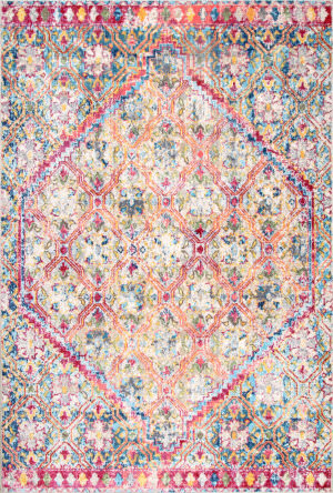 Nuloom Sharyn Vintage Medallion Multi Area Rug