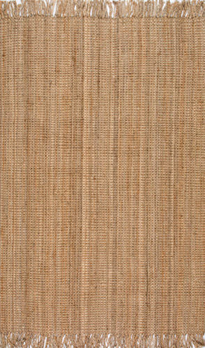 Nuloom Hand Woven Chunky Loop Natural Area Rug