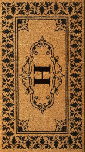 Nuloom Letter H Doormat Letter H Area Rug