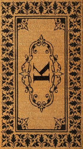 Nuloom Letter K Doormat Letter K Area Rug
