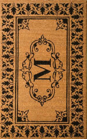 Nuloom Letter M Doormat Letter M Area Rug