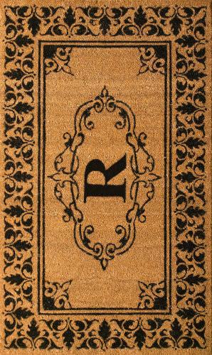 Nuloom Letter R Doormat Letter R Area Rug