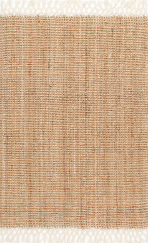 Nuloom Hand Woven Raleigh Natural Area Rug