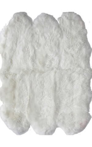 Nuloom Handmade Sexto Luxe Sheepskin Natural Area Rug