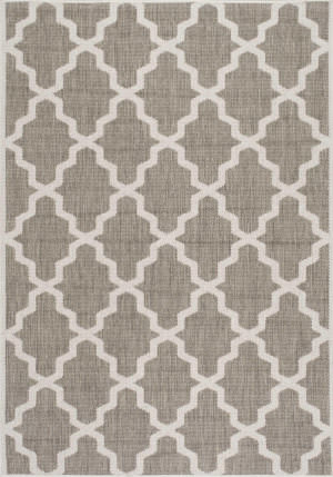 Nuloom Machine Made Gina Taupe Area Rug