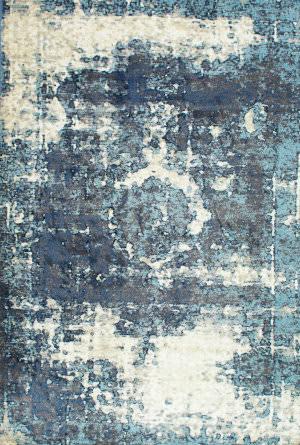 Nuloom Vintage Lindsy Blue Area Rug