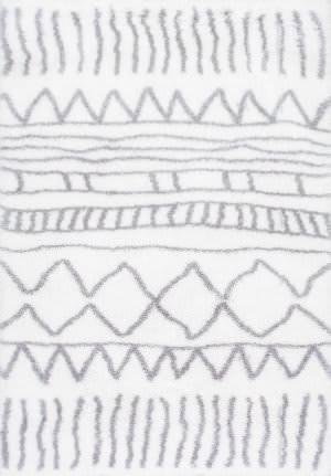 Nuloom Renata Moroccan Shag Grey Area Rug