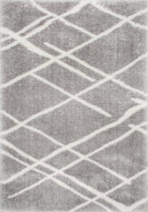 Famous Maker Dupree Lattice Gray Area Rug